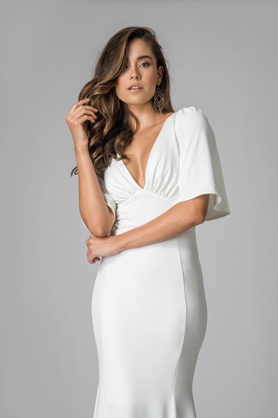 Aluguel vestido noiva branco off white vila formosa sp
